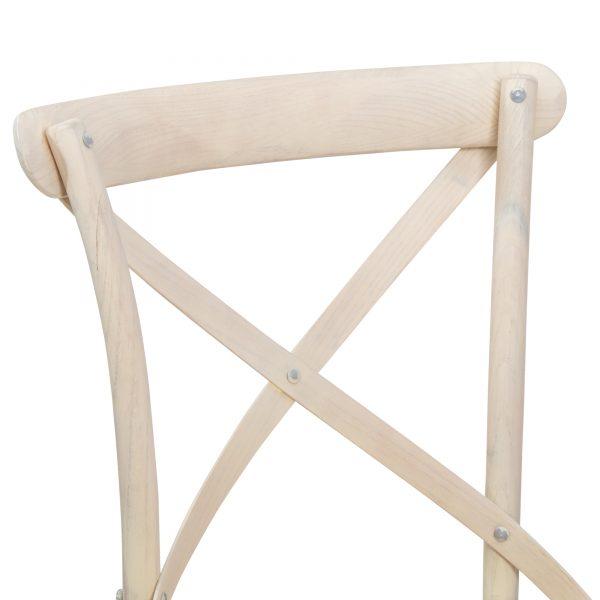 Silla Crosback Blanca